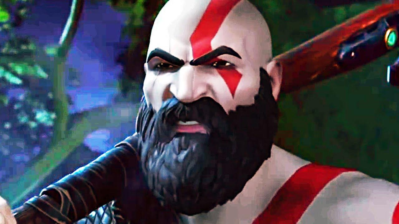 Kratos In Fortnite Trailer 2020 God Of War Youtube The kratos skin is a gaming legends fortnite outfit from the oathbreaker set. kratos in fortnite trailer 2020 god of war