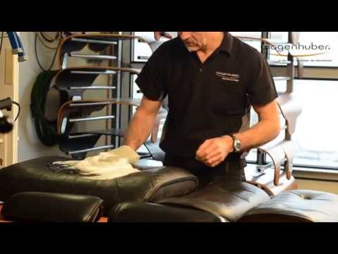 Charles & Ray Eames - Lounge Chair Restauration - Wagenhuber GmbH