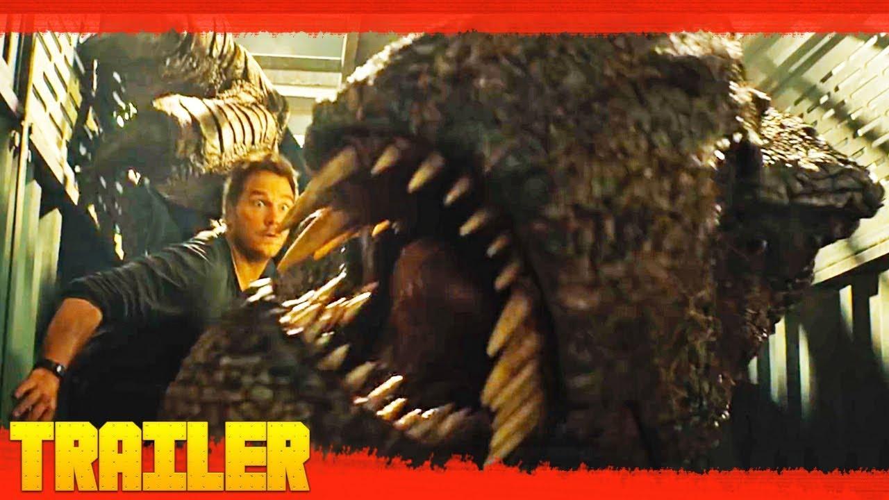 Jurassic World 2 El Reino Caído 2018 Nuevo Tráiler Oficial 2 Español Latino Youtube