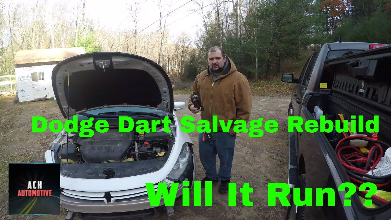Rebuilding a Wrecked Dodge Dart from Copart - Part 4, Видео