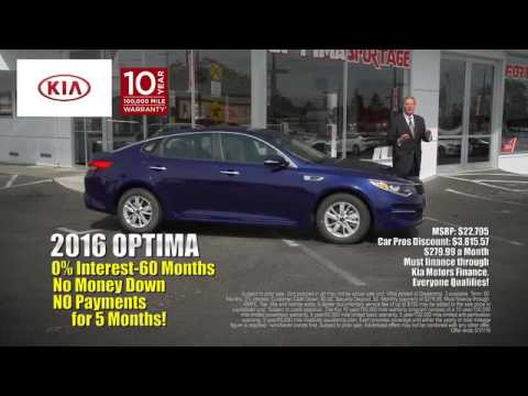 Car Pros Tacoma >> 2016 Kia Optima Offer May 2016 Car Pros Kia Tacoma Youtube