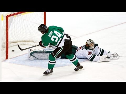 Penalty Shot: Jordie Benn vs Darcy Kuemper