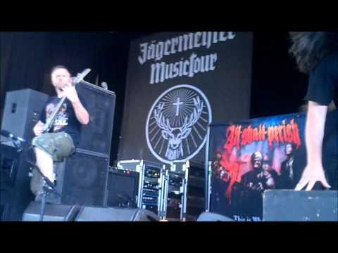 All Shall Perish - Wage Slaves (Live) Mayhem 2011