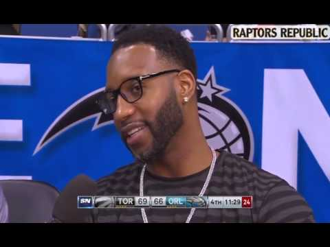 Tracy McGrady Reminiscing about his time in Toronto