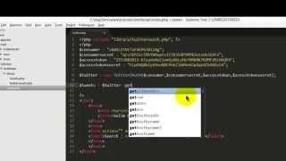PHP Tutorials - Twitter API 1.1 Search Tweets or Hashtags