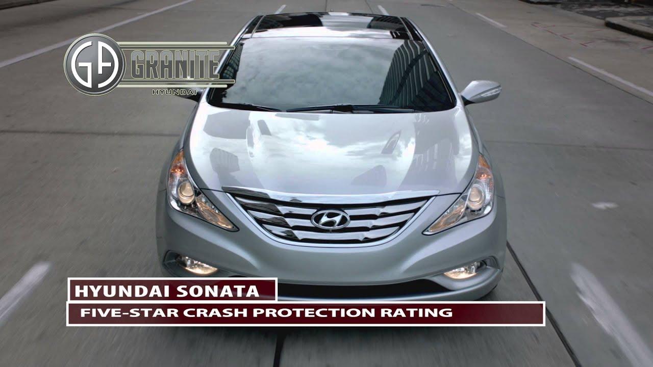 2013 Hyundai Sonata 5 Star crash protection rating