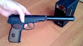 пневматический пистолет Stalker SPM (обзор, данные отстрела по скорости и кучности, цена)