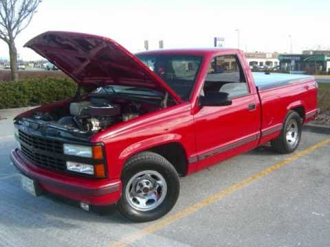 91 Chevy 383 Stroker Truck SS - YouTube
