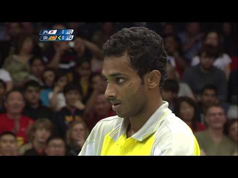 Kenichi Tago(JPN) vs Niluka Karunaratne(SRI) | Badminton London Olympics 2012|