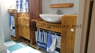 The 18 best pallet furniture ideas for your bathroom