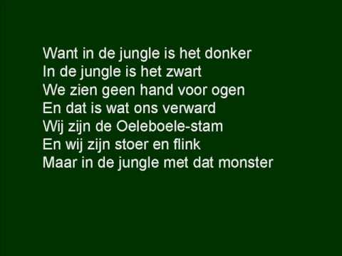 In de jungle is het donker karaoke.wmv