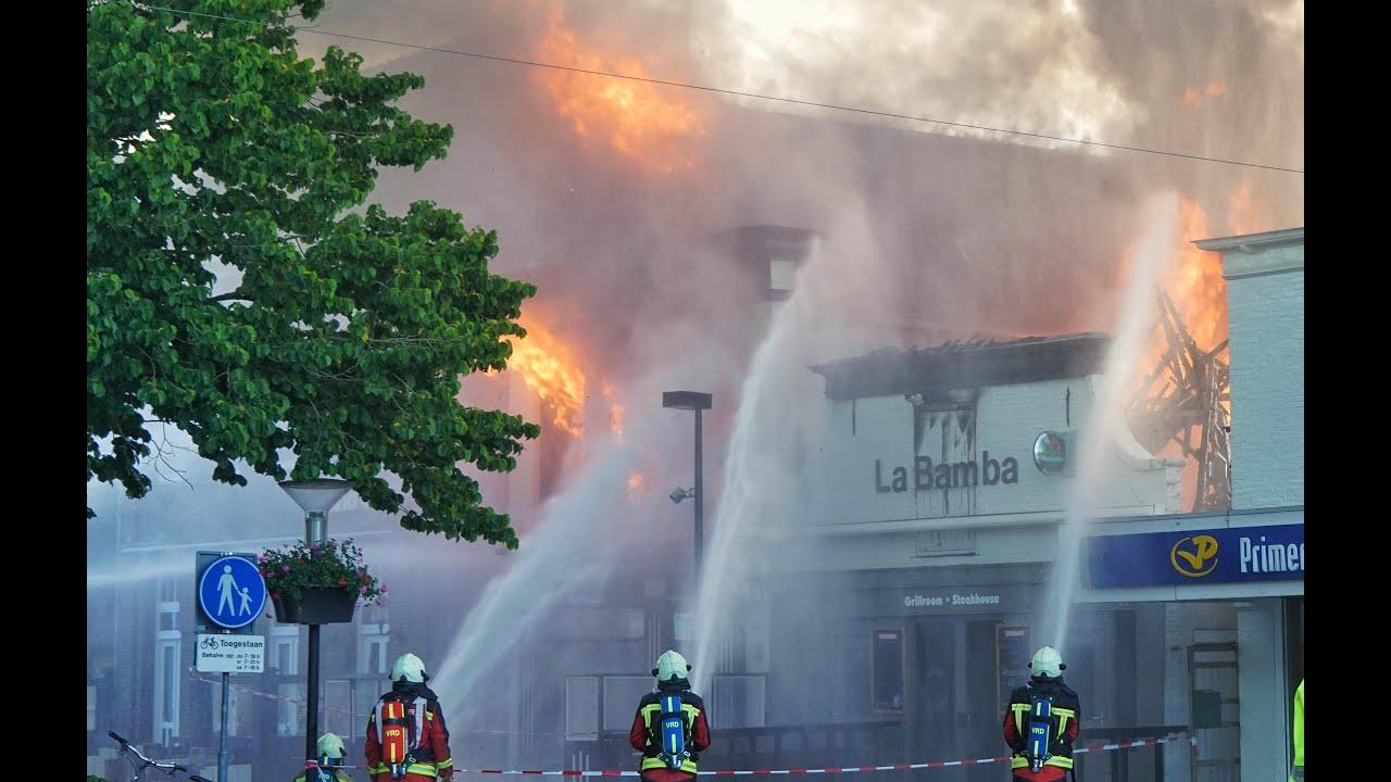 Grote Brand In Hoogeveen Onder Controle Youtube