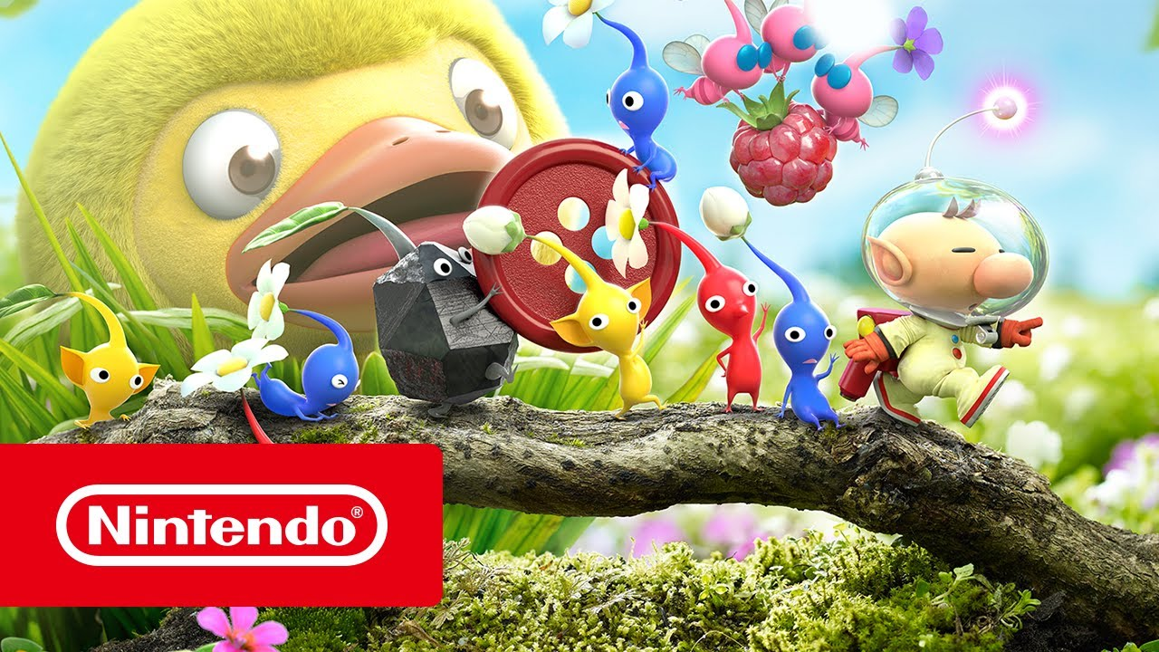 Hey Pikmin Launch Trailer Nintendo 3ds Youtube