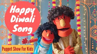 Happy Diwali Song for Kids | Deepawali Special Puppet Show | Tara-Appa