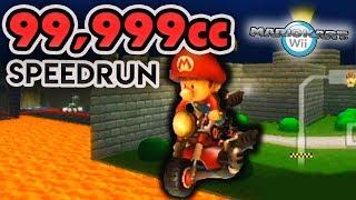 I Attempted A 99,999cc Mario Kart Wii Speedrun All 32 Tracks