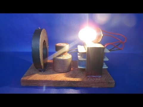 Amazing free energy generator using old product in the pass very easy at home 2018