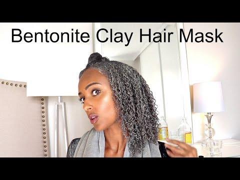 DIY Bentonite Clay Hair Mask to Clarify & Define Curls | Low Porosity Natural Hair Tips