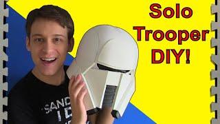 Solo Storm Trooper Tutorial (Star Wars Range Trooper DIY)
