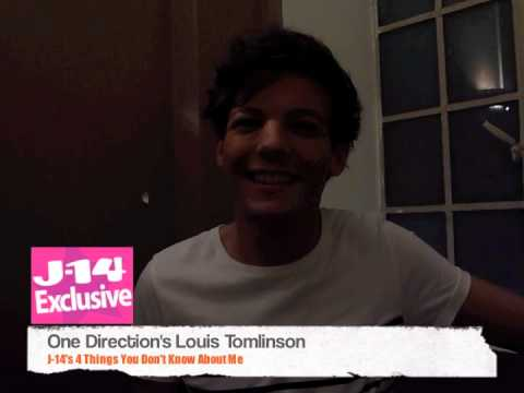 J-14 Exclusive Video: 4 Things You Don't Know About One Direction's Louis Tomlinson