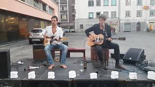 Roberto Luti ft Luke Winslow King live @Barrocciaia, Livorno 20/06/19