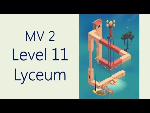 Monument Valley 2 - Level 11 The Lyceum
