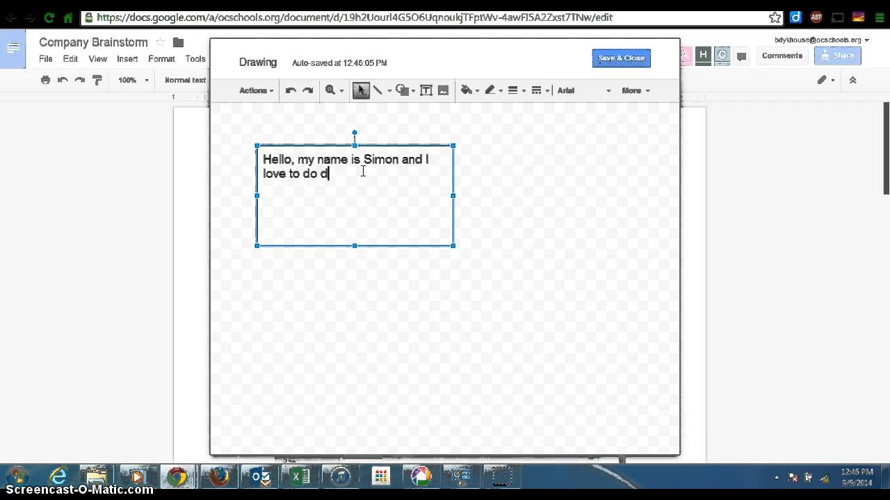 how to add a text box in google docs youtube With how to add a textbox in google docs