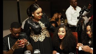 See The Dress Abimbola Wore On Her Birthday As Lateef Adedimeji,Regina Chukwu,&Others Stormed In