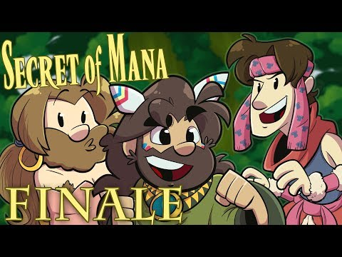 Secret of Mana Let's Play - Finale - Theseus and the Manatau