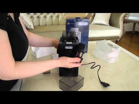 DeLonghi KG79 Burr coffee grinder unboxing / Delonghi KG79 Kahve tme Makinesi