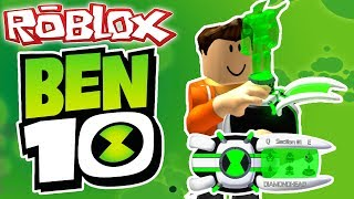 HOW TO BE BEN 10 IN ROBLOX (Roblox Ben 10 Arrival of Aliens)