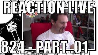 [Reaction live - Fr] One Piece chapitre 824 Part - 01