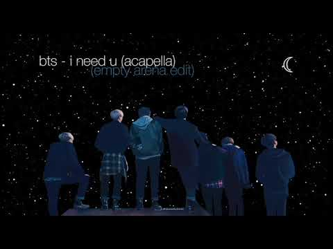 """How Bts - """"i Need U"""" Would Sound Like If They Were Doing Soundcheck In An Empty Arena"""