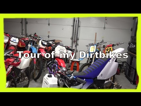 Tour of my Dirtbikes