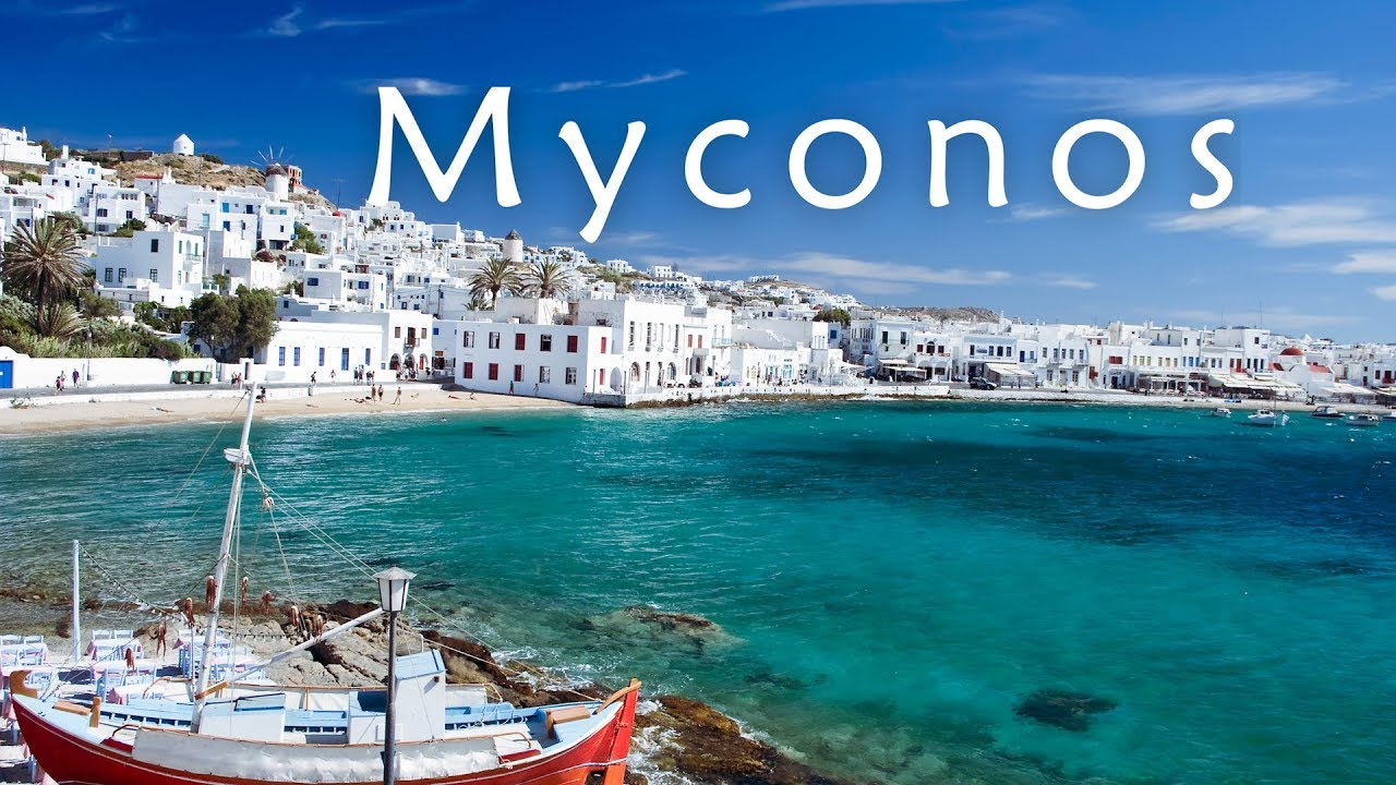 Top Mykonos beaches ✽ Greece