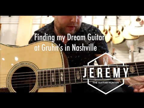 What Guitar Sounds Best? Jason Isbell Martin D-18 Or A D-45?  Guitar Hunting At Gruhn In Nashville
