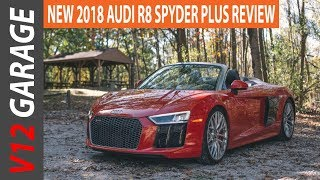 2018 Audi R8 V10 Spyder Plus Specs and Review
