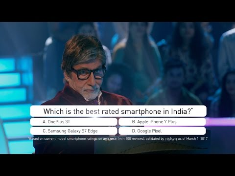 OnePlus 3T is the best rated smartphone - Enter to win Rs 1 Crore