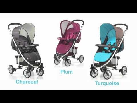 Hauck Malibu stroller + Bassinet + Adaptor + Stand