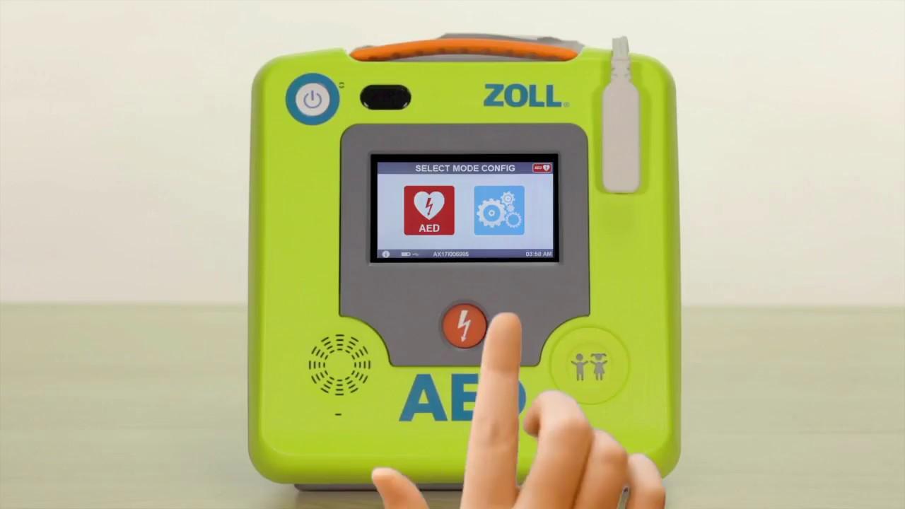 ZOLL AED 3 Options de configuration avancées