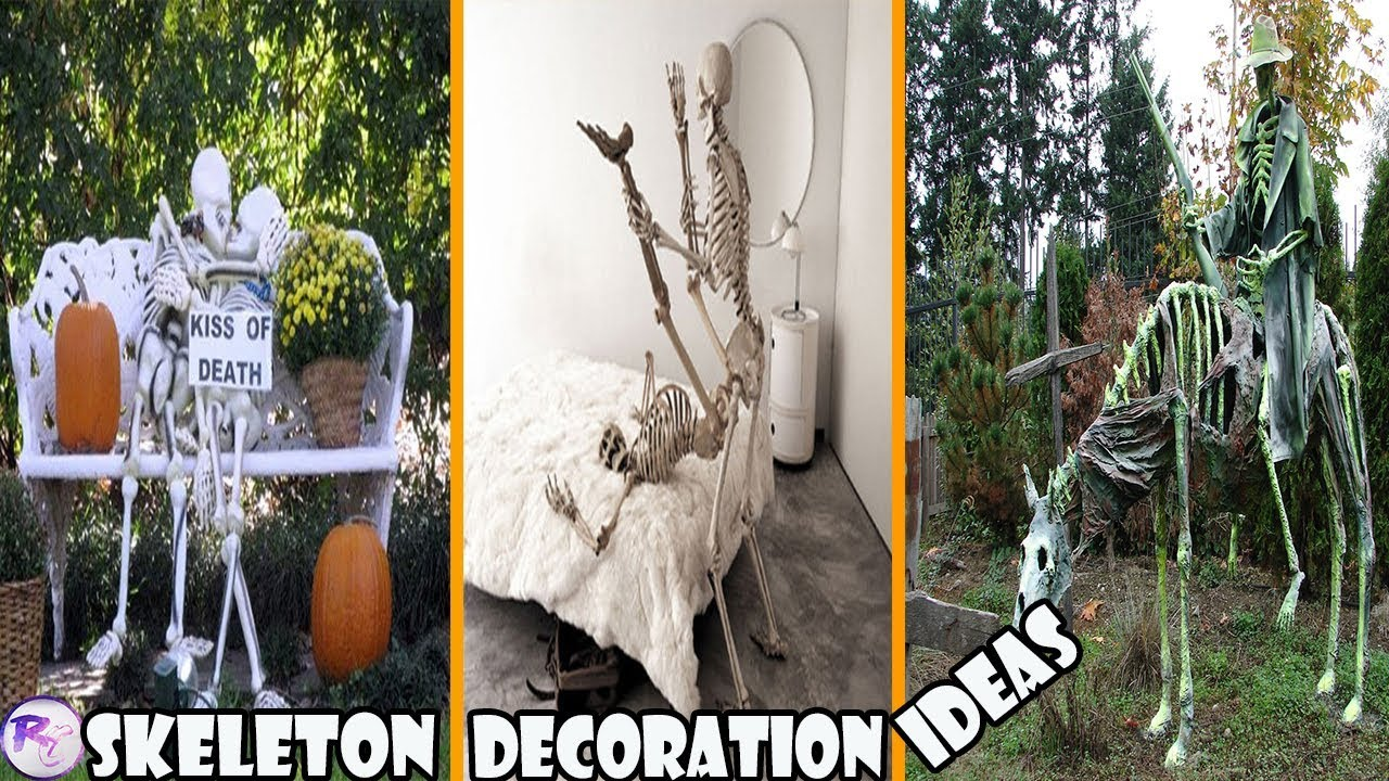 Skeleton Decoration Ideas To Try This