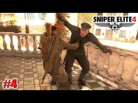 Sniper Elite 4 ДЕРЕВНЯ БИТАНТИ (КАМПАНИЯ) (4 серия)