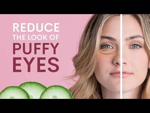 How to Reduce the Look of Puffy Eyes: 5 Techniques | Beauty in Pajamas