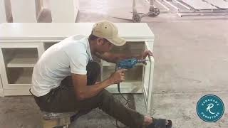 Making of the Renegade Entertainment Center