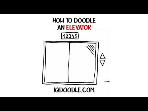 How to Draw an Elevator (drawing tips)