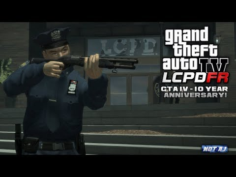 GTA 4 LCPDFR | GTA IV 10 Year Anniversary | Throwing it Back to the Old Days!
