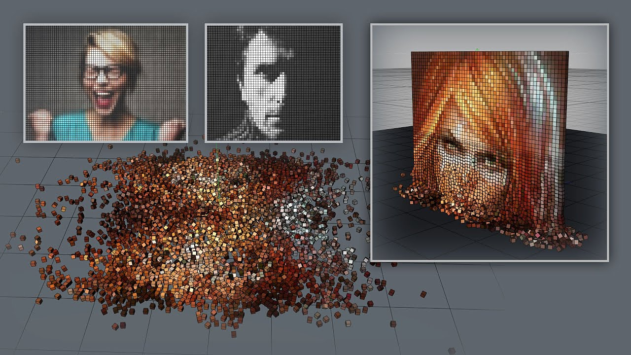 how to make pixel art from any image