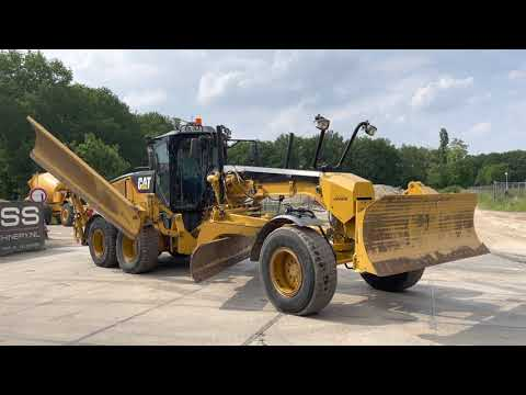 Used heavy machinery Caterpillar 160M Grader