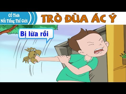 TRÒ ĐÙA ÁC Ý | Chuyen Co Tich | Truyện Cổ Tích Việt Nam | Phim Hoạt Hình Hay Nhất 2019