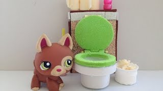 How to make a LPS toilet: LPS accessories
