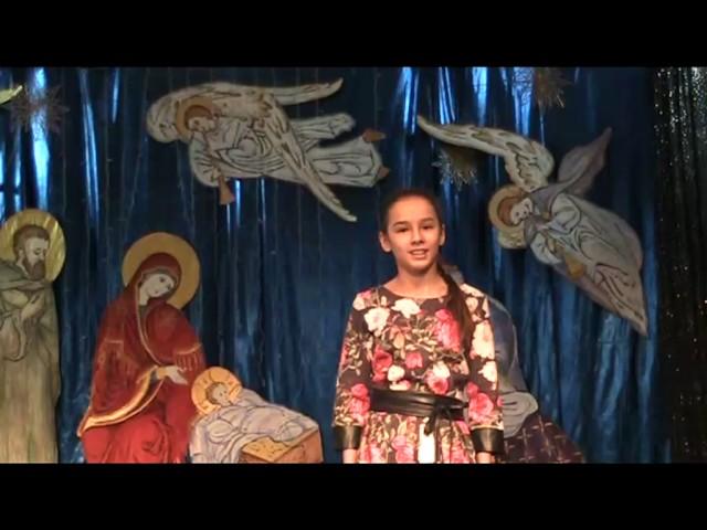 Изображение предпросмотра прочтения – ЕкатеринаЖукова читает произведение «Сегодня будет рождество» М.Ю.Лермонтова
